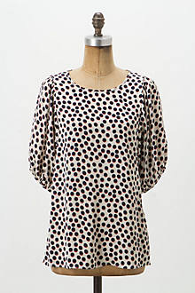 Eclipsed Dots Blouse