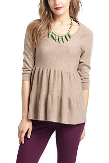 Tiered Swing Sweater