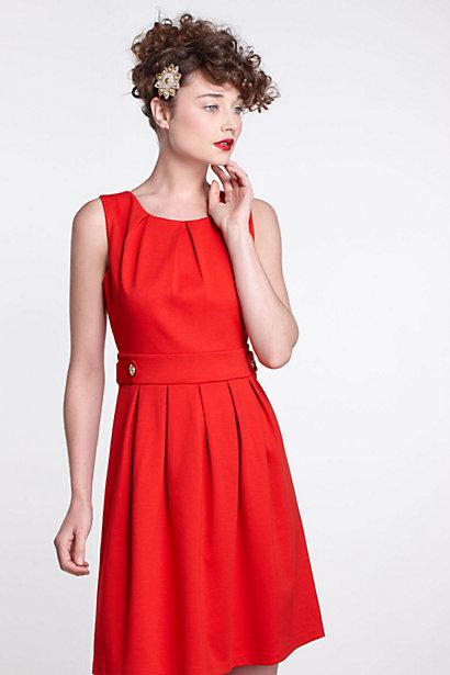 Crimson Ponte Dress-Crimson Ponte Dress