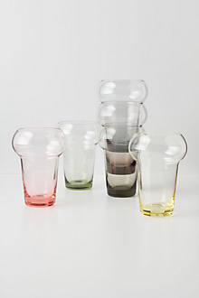 Tinted Base Tumbler Set
