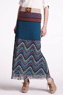 Sea Moss Maxi Skirt