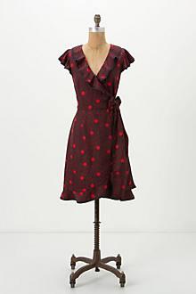 All Dots Wrap Dress