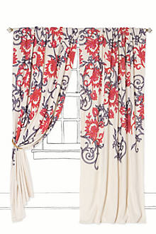 Stitched Mansoa Curtain