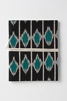 Clothbound Ikat Journal