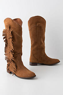 Lateral Fringe Boots