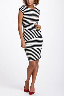 Cap Sleeve Column Dress