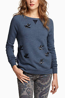 Sequined Migration Pullover