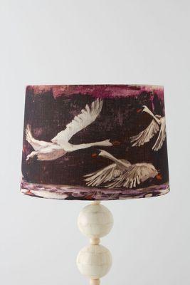 Swan Flight Lampshade
