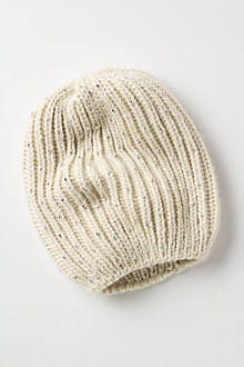 Bead-Dusted Beanie
