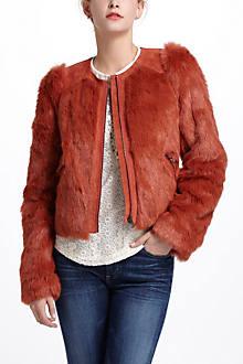 Burnt Sienna Shag Jacket
