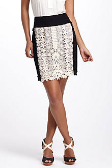 Patchwork Lace Skirt