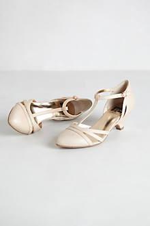 T-Strap Kitten Heels