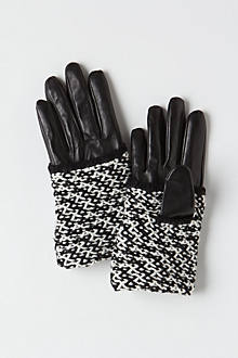Paradeplatz Cuffed Leather Gloves