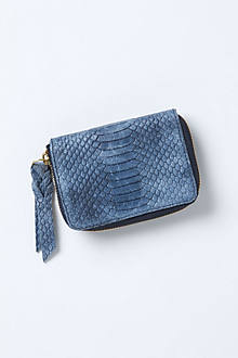 Mini Croc Wallet