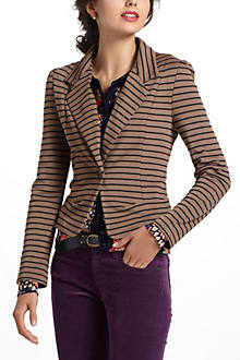Striped Spinnaker Blazer