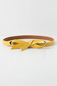 Slouchy Bow Belt
