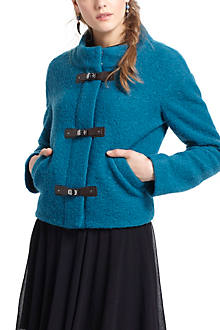 Clasped Cerulean Jacket