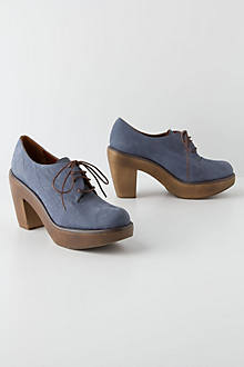 Nubuck Oxford Clogs