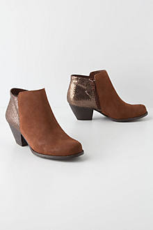 Glittered Heel Booties