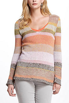 Striped Scenery Sweater