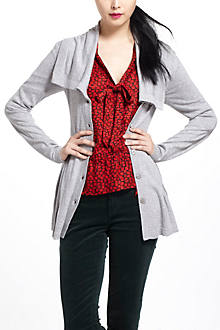 Flared Shawl Cardigan