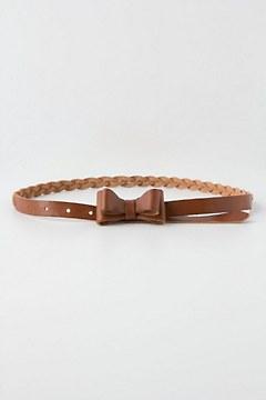 Woven Bow Belt
