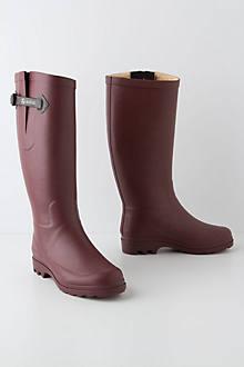 Shearling Rain Boots