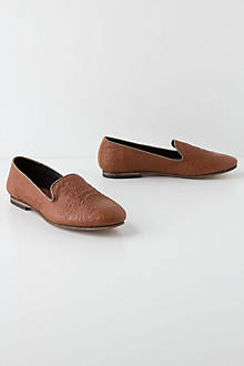 Tooled Leather Loafers