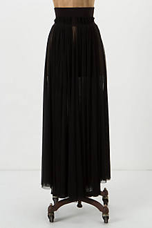 Diaphanous Maxi Skirt