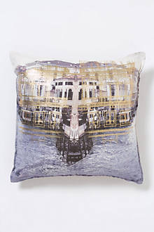 Grand Canal Long Pillow