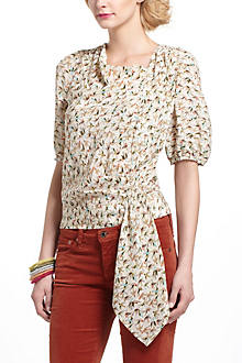 Side-Tied Sparrows Blouse