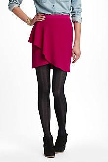 Flounced Saturation Skirt