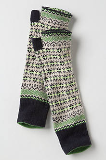 Fairisle Arm Warmers