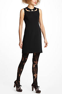 Cutout Collar Dress