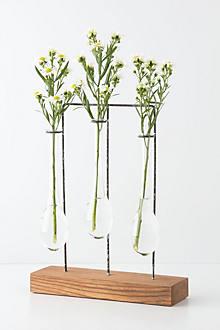 Vertical Chemist Vase