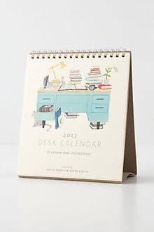 Literal Desk Calendar