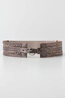 Scalloped Corset Belt