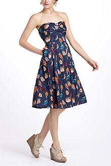 Native Birds Dress, Petite
