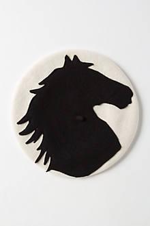 Felted Equus Beret