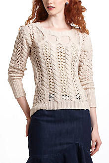 Lace Cables Pullover
