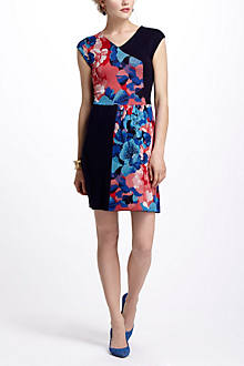 Patchwork Jacquard Dress