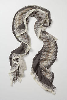 Mottled Willow Ruffle Scarf