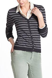 Slender Stripes Cardigan