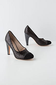 Tailored Glitz Pumps