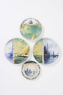 Yachting Plate Collage