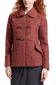 Amaranth Boucle Sweatercoat