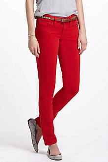 Pilcro Stet Slim Straight Colored Denim