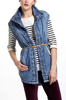 Citizens Of Humanity Quilted Denim Vest
