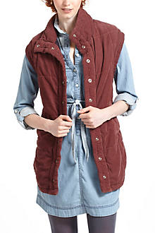 Quilted Citizens Of Humanity Corduroy Vest