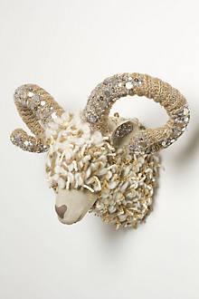 Winter Dream Ram Bust